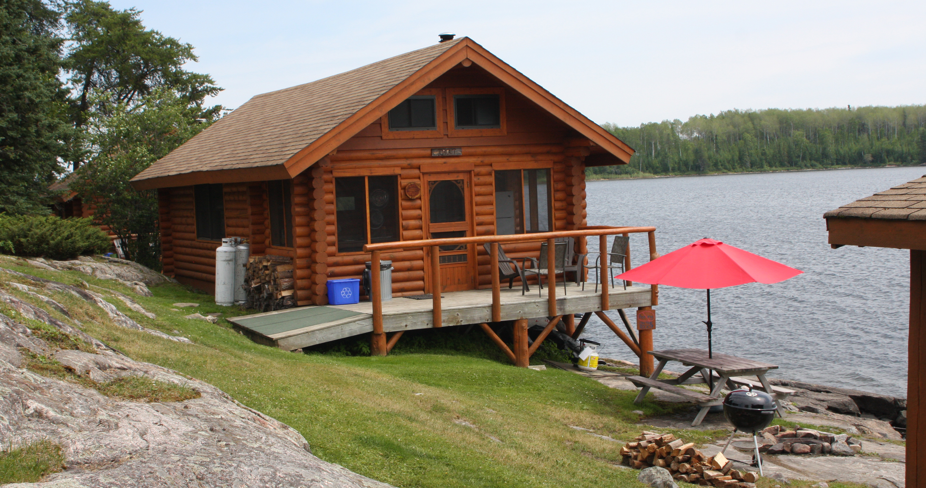 cabin rentals housekeeping sunset country ontario canada