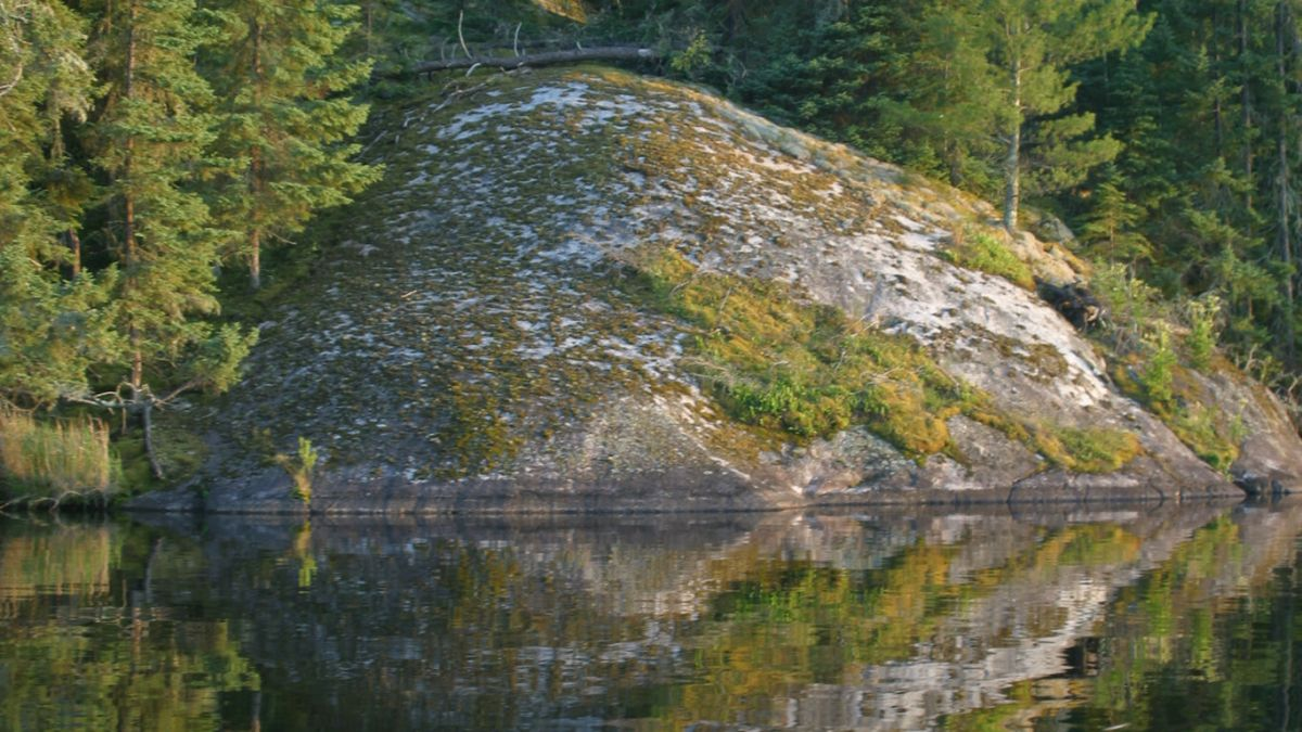 Canadian shield landscapes in Sunset Country