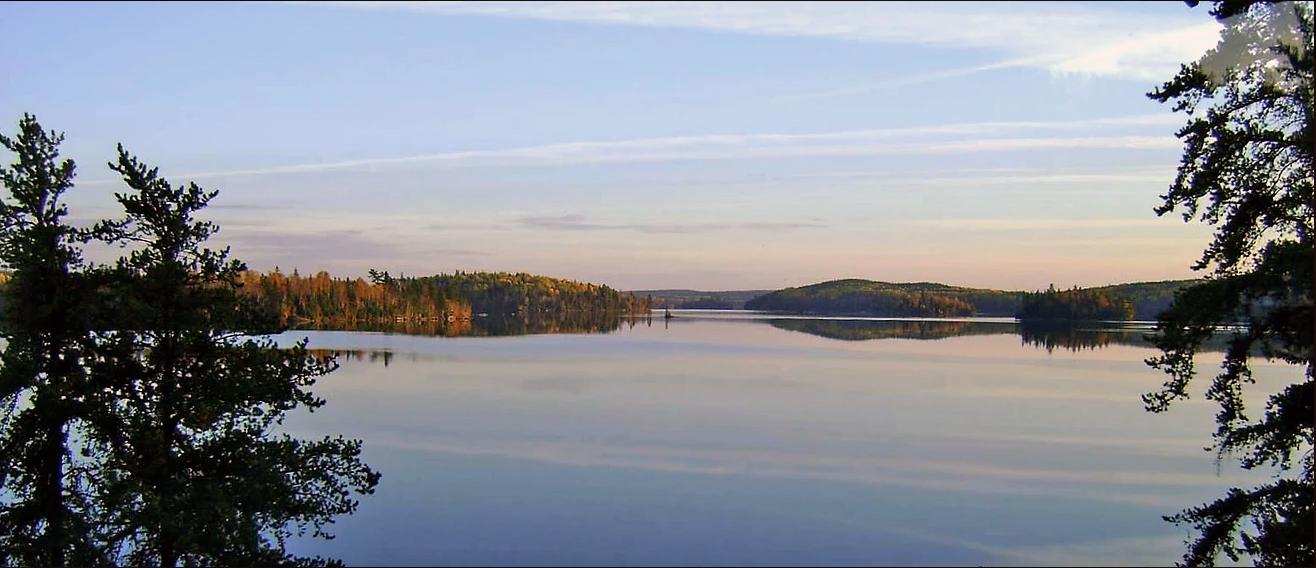 Cedar Lake Sunset Country Ontario Canada