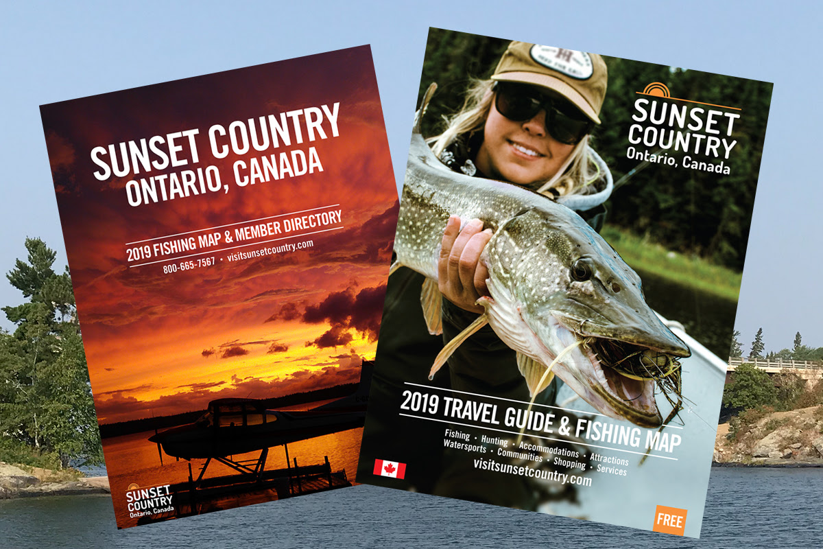 Get a copy of the Sunset Country Travel & Vacation Guide & Map