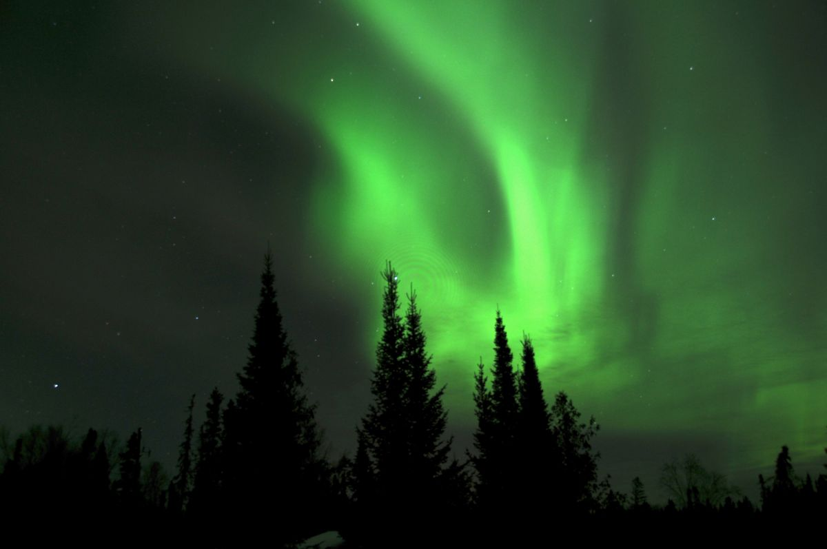 Northern Lights at Sioux Lookout, Ontario