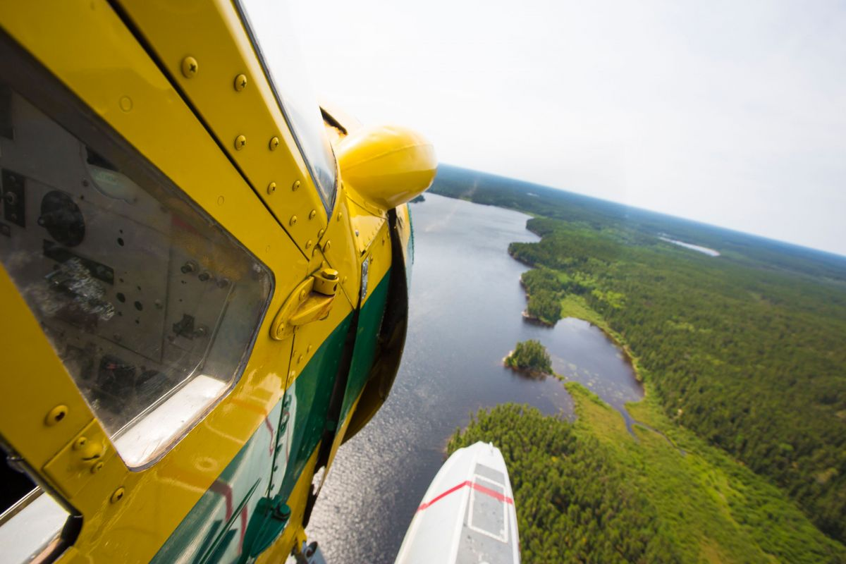 Fly-in canoe trips