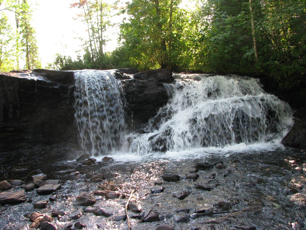 Raleigh Falls in Ignace Ontario Canada