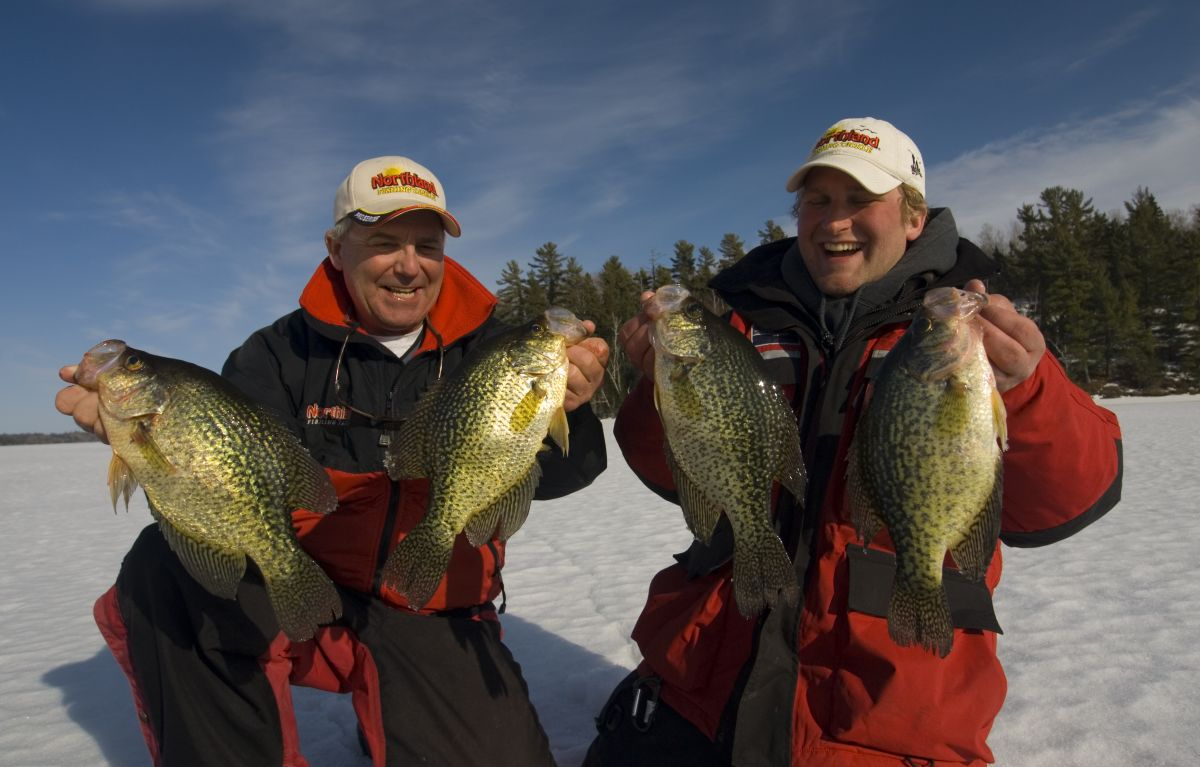 crappie-ice-fishing-sunny-march-