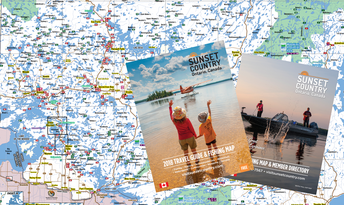Free Travel Guide & Map of Ontario's Sunset Country