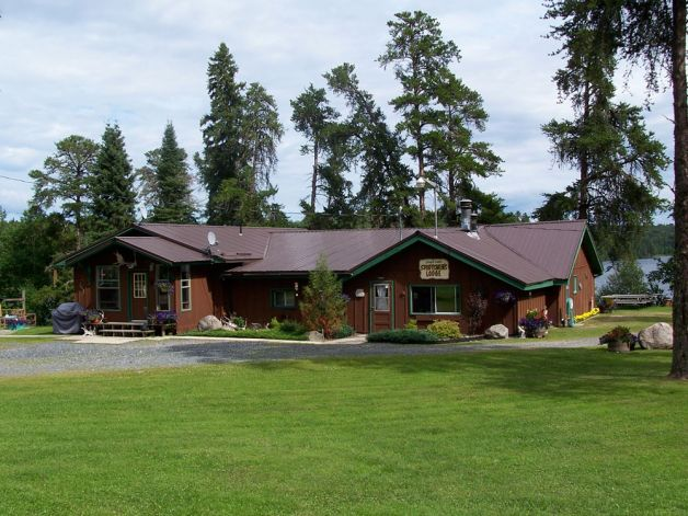 Eagle Lake Sportsmen S Lodge Sunset Country Ontario Canada