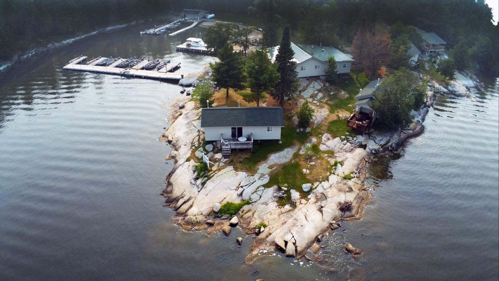 Ballard S Black Island Resort Sunset Country Ontario Canada