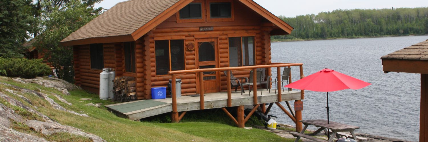 Cabin rentals housekeeping sunset country ontario canada for Cottage packages manitoba