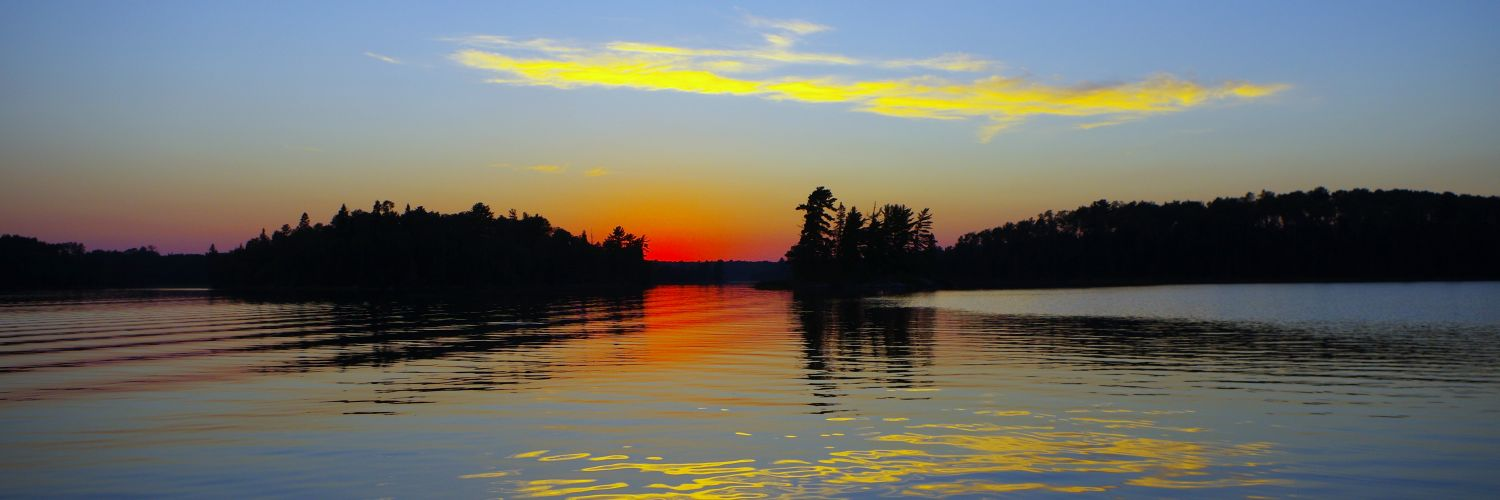Lake of the woods sunset country ontario canada for Lake of the woods fishing lodges