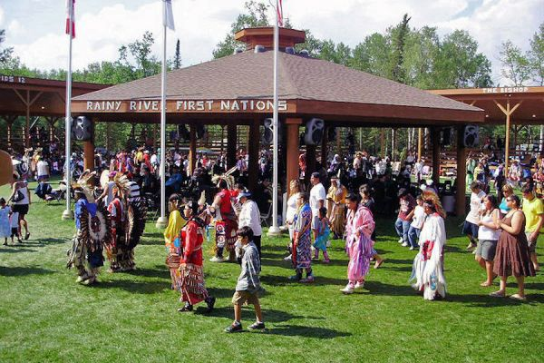 Image of Rainy River First Nations Pow Wow
