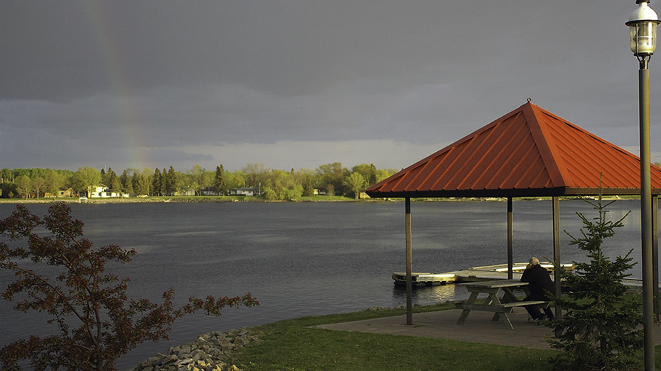 Fort Frances Ontario waterfront