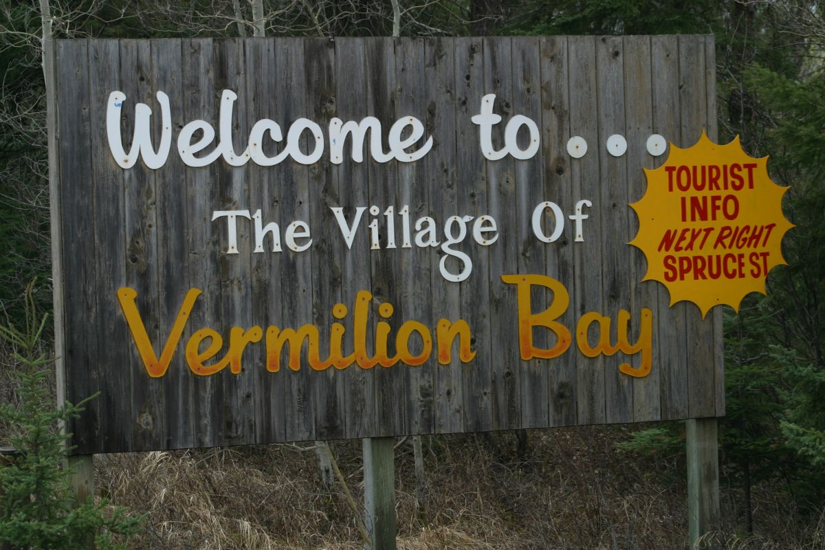 Welcome to Vermilion Bay, Ontario