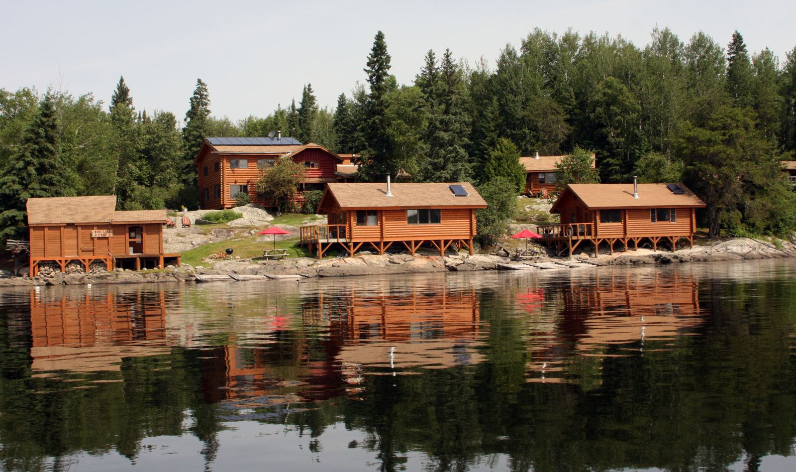 fishing lodges and resorts sunset country ontario canada