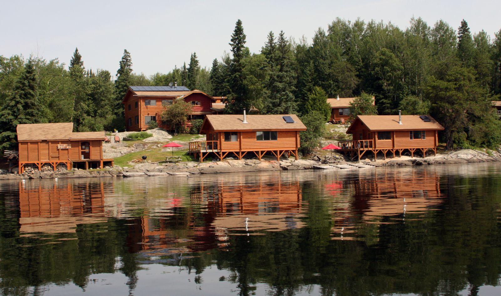 fishing lodges and resorts. Black Bedroom Furniture Sets. Home Design Ideas